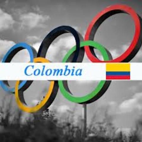 primera aparicion de colombia en los juegos olimpicos