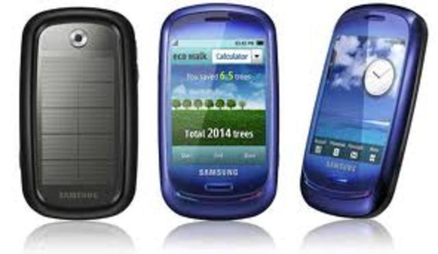 Primer celular tactil