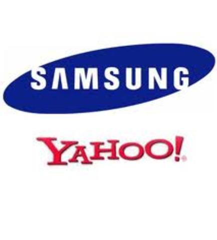 Samsung y yahoo