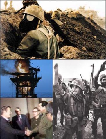 Iran-Iraq War (  September 1980 to August 1988 )