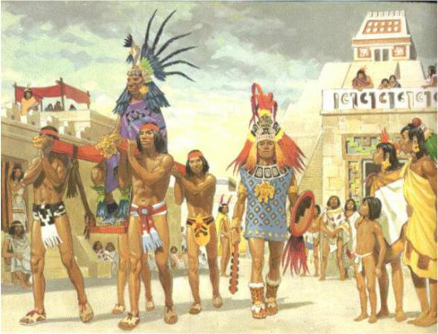 Mexica leave their homeland