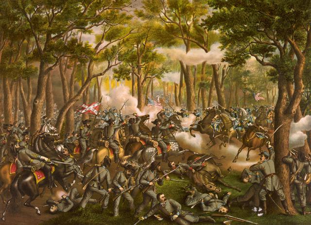 Battleof Wilderness, Virginia
