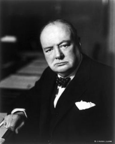 Churchill becomes Prime Minister of Britain.
