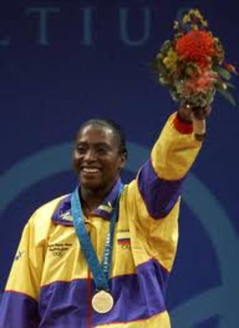 Primera medalla de Oro
