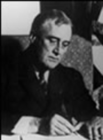 FDR gives $2 billion to start building the Atomic Bomb