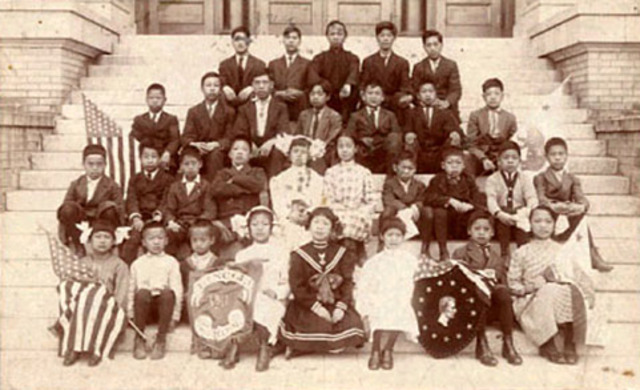 Schools for Asian, Latin and Native American Children
