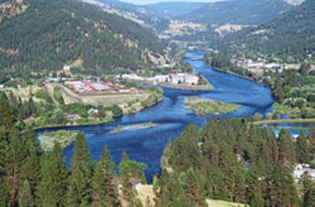 Moving into the Clearwater River.