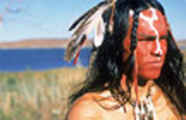 The Expedition arrives back with Nez Perce Indians.