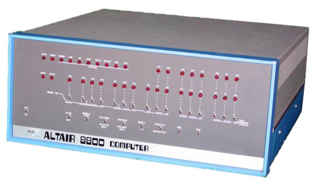 Debuta Altair 8800