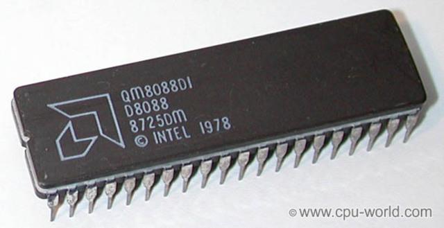 El Procesador 8088, el 8086 y la IBM PC