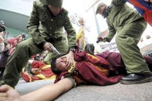 Tibetan Uprising 10 Mar 1959