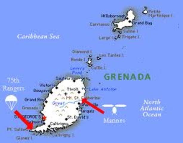 US invasion of Grenada25 Oct 1983