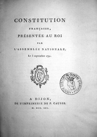 Costituzione del '91