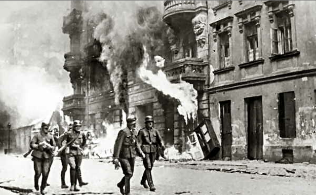 The Nazis order all of the ghettos in Poland and the Soviet Union destroyed.