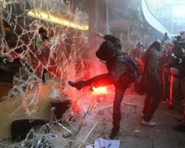 Militant Protest