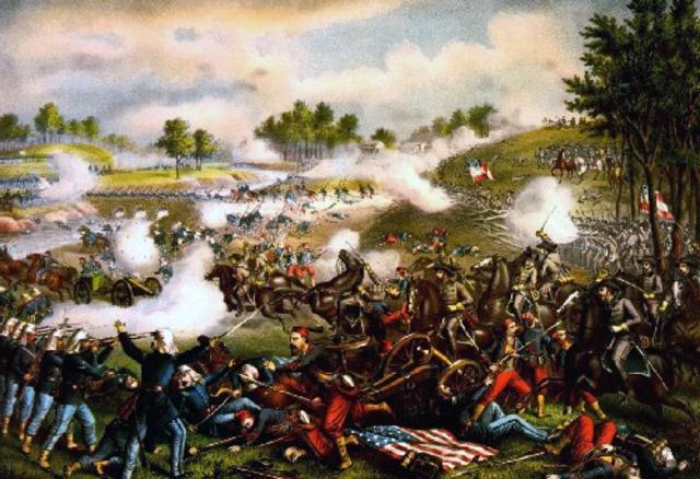 First Battle of Bull Run/ Manassas