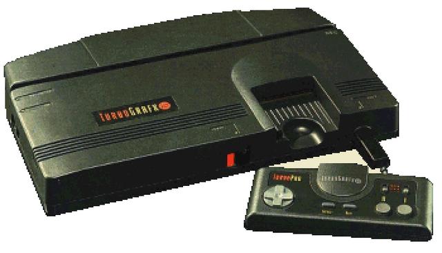 El Turbo Grafx 16/PC Engine de NEC