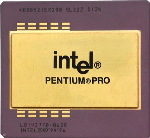 Aparece el Pentium Pro