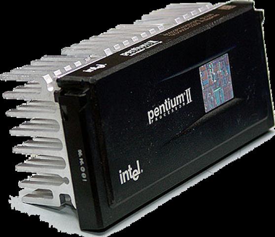Intel lanza el Pentium II