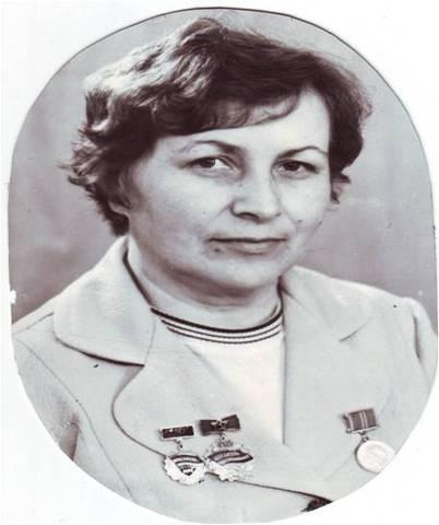 Первая заведущая - Мария Петровна Щеголева