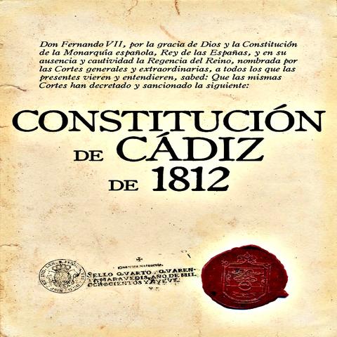 """Constitution of 1812 """" la pepa"""""""