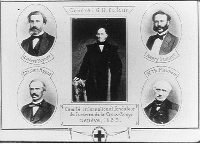 Primer comité de cuerpos voluntarios