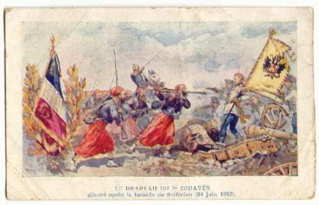 Henry llega a Solferino (Norte De Italia)