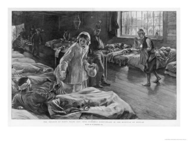 Primera Enfermera Militar