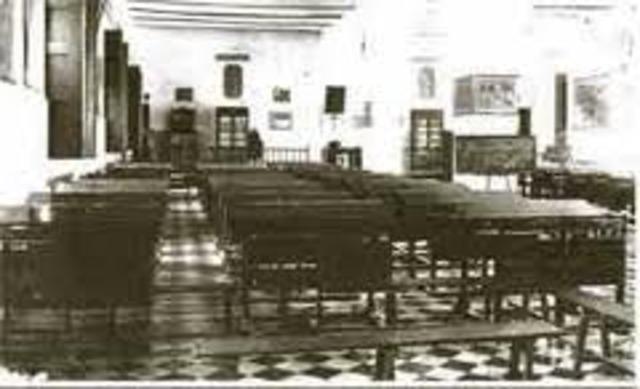 Creación de la Escuela de Cartagena (01 De Enero De 1903)