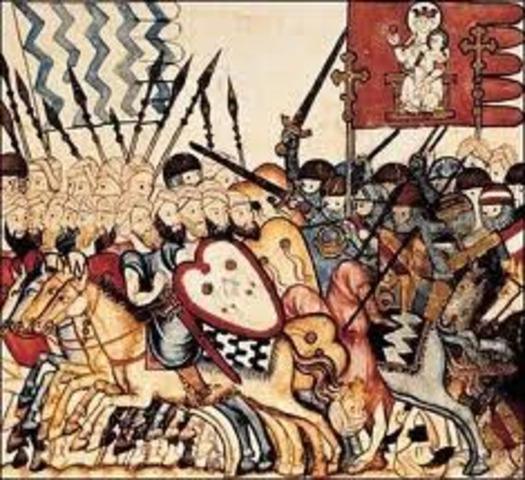 Los árabes conquistan medio oriente