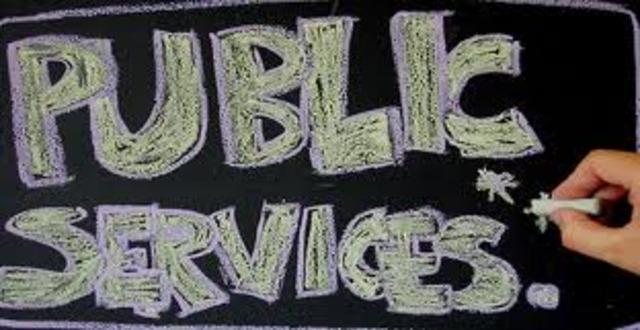 Public service under pres