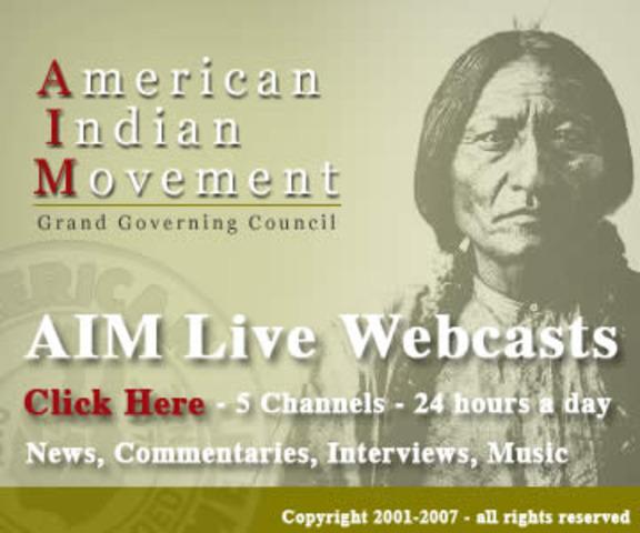 American Indian Movement (AIM)