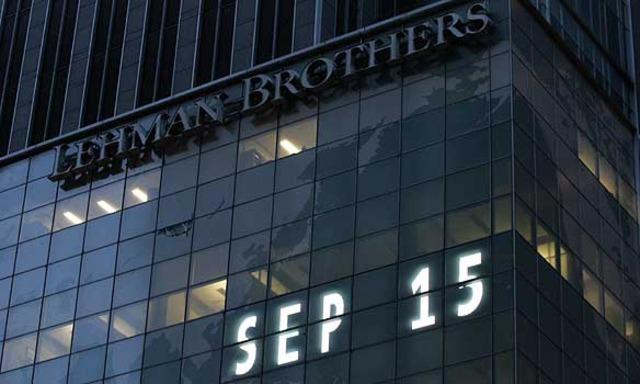 Lehman Brothers en fallida.