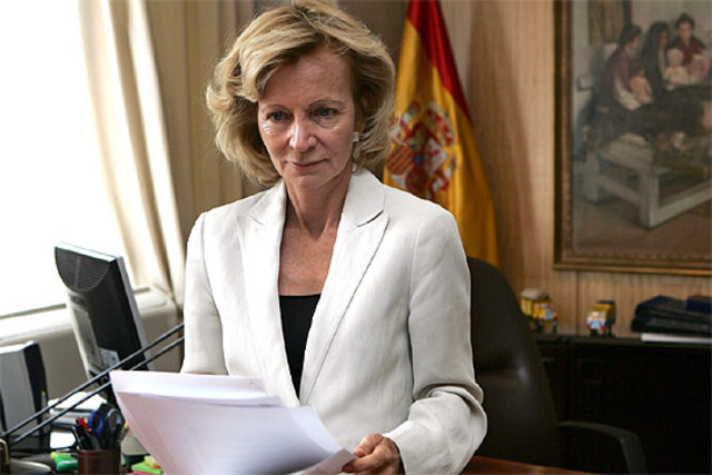 Elena Salgado és la nova vicepresidenta econòmica.