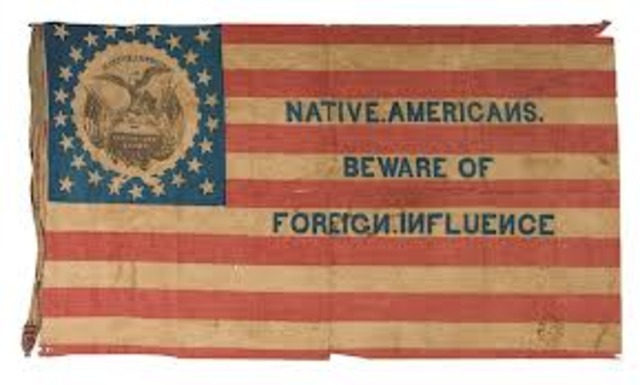 NATIVISM AND THE KNOW NOTHINGS