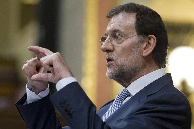 Mariano Rajoy anuncia retallades.