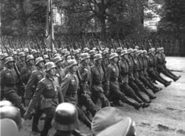 Third Reich Spreads Its Boundaries