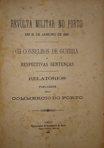Revolta militar no Porto.