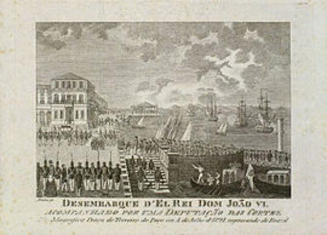 D. João VI, e a Corte, regressam a Portugal.