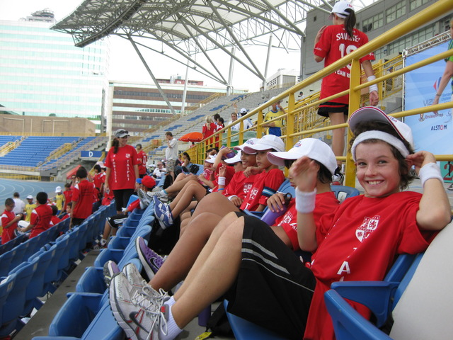 My first sporting event call FOBISSEA in Tai pei