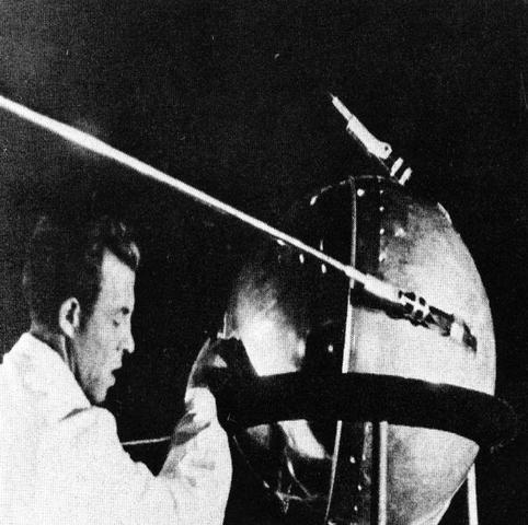 Sputnik I and Sputnik II are launched by the Russians