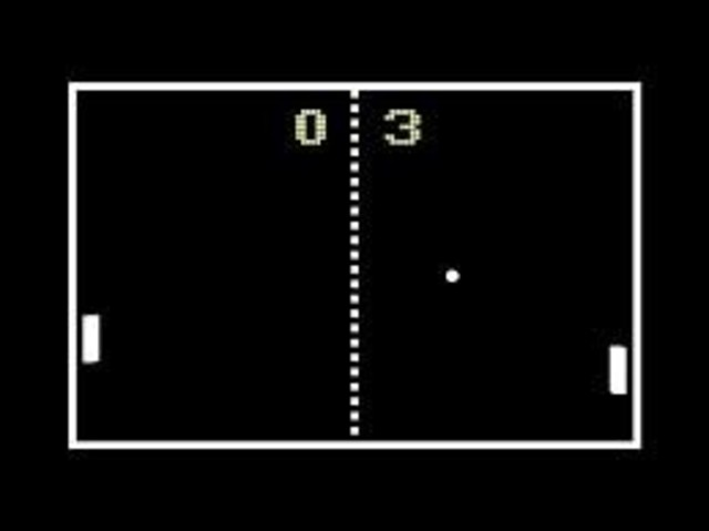 •Pong first video game invented by Nolan Bushnell.