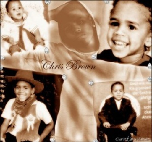 born as Christopher Maurice Brown