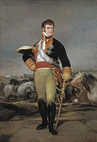 Fernando VII arrival