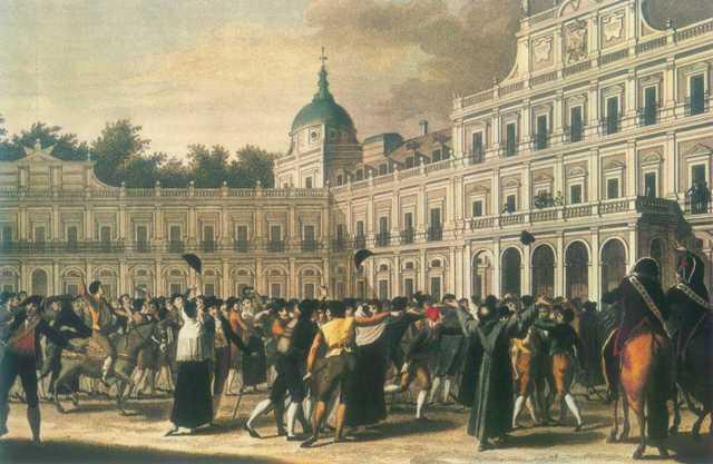 Abdication of Carlos IV and Motín Of Aranjuez