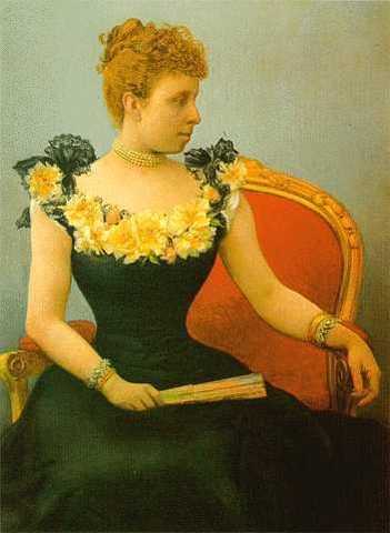 María Cristina de Habsburgo-Lorena (Regente Alfonso XIII)