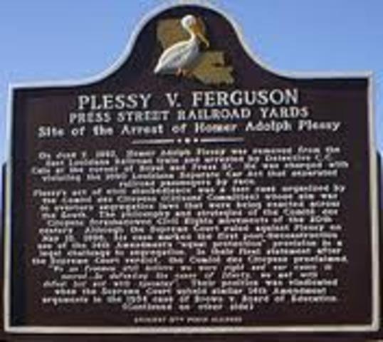 Plessey v. Ferguson
