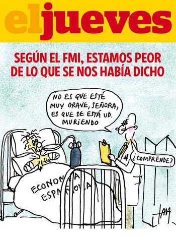 LA FMI FA PRONÒSTICS NEGATIUS VERS A L'ECONOMIA  ESPANYOLA