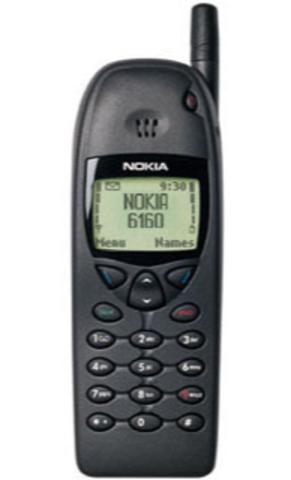 First Candybar Phone