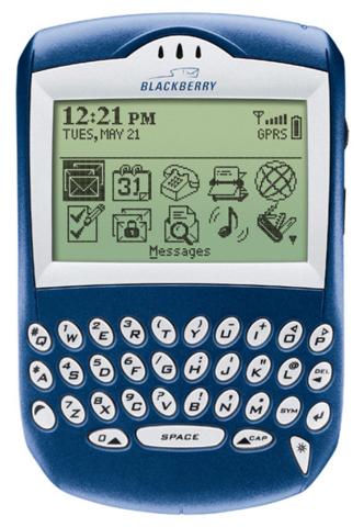 precurser to the blackberry smartphone